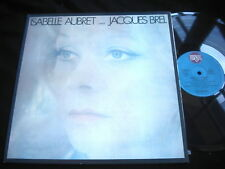 ISABELLE AUBRET CHANTE JACQUES BREL/DISQUES MEYS/FRENCH PRESS