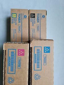 Konica Minolta Toner CMYK TN324K TN324C TN324M TN324Y