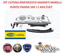 KIT CATENA DISTRIBUZIONE MAGNETI MARELLI RINFORZATA FIAT 500 PANDA 1.3 MULTIJET