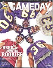 Minnesota Vikings Dallas Cowboys GameDay Program 8/27/11 Christian Ponder +4