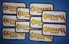 10 Lot Olympia Oly Beer Sew On Employee Iron On Jacket Trucker Hat Patches B