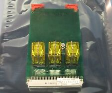 M.S.D.1 Spet Control Relay Card 452211190972 w 3 Matsushita AP3222449 DC24V Used