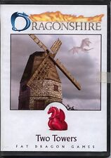 Dragonshire Two Towers CD rom MINT Fat Dragon Games Paper Terrain PDF