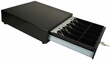 M-S Cash Drawer J-423-B  All Black  with an Extra Money Tray