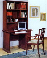 SCRIVANIA SCRITTOIO PORTA PC IN PIOPPO + LIBRERIA COL.NOCExCAMERETTA STUDIO 5948
