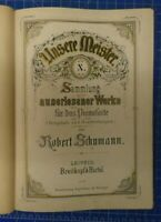 Unsere Meister X Schumann-Album für das Pianoforte Noten  B-25050
