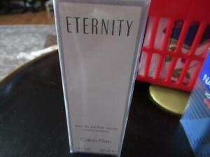 Calvin Klein Eternity Eau De Parfum Spray 1 oz SEALED