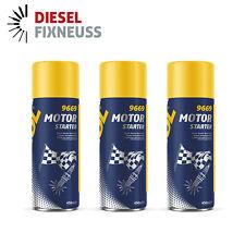 Starthilfe Spray 3x 450ml MANNOL Motor Starter Kaltstart Startpilot Dose