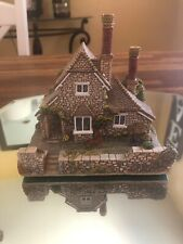 Lilliput Lane Vine Cottage- Large Blaise Hamlet Collection 1990 With Deed
