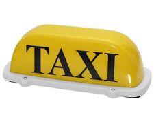 Taxischild Dachzeichen Dachschild TAXI Gelb Lampe Licht Beleuchtung 12V