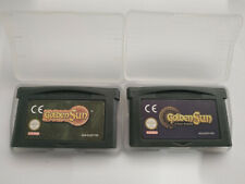 LOT GOLDEN SUN 1 & 2 (L'age Perdu) FRENCH VERSION FOR NINTENDO GBA