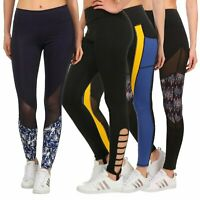Damen Leggings Hose Leggins Sporthose Fitnesshose Damenleggings Stretchhose ZZ