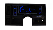 1984-1987 Buick Regal Digital Instrumententräger Blue Leds Lebenslange Garantie