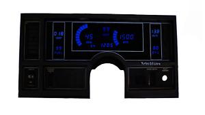 1984-1987 Buick Regal Digital Dash Panel Blue LED Gauges Lifetime Warranty