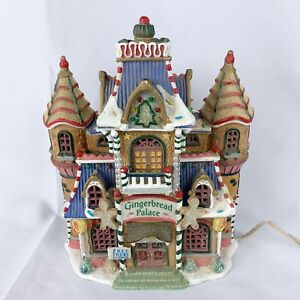 Lemax Sugar N Spice Gingerbread Palace Christmas Village House Building 2004 HTF