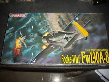 DRAGON FOCKE-WULF FW190A-8 PLASTIC MODEL 1/48