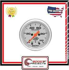 "AutoMeter 0-100 PSI Ultra-Lite Analog Fuel Pressure Gauge 2-1/16"" * 4371 *"