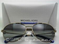 Michael Kors Zanzibar Sunglasses MK5001 100411 Gold Grey Gradient Lens MK 58 mm