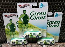 HOT WHEELS 2013 GENERAL MILLS GREEN GIANT HAULIN' GAS Real Riders Lot x 3