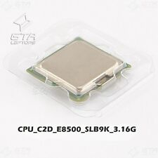 Intel Core 2 Duo E8500 3.16GHz SLB9K LGA775 Dual-Core CPU Working Pull