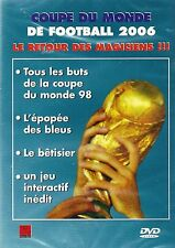 DVD - COUPE DU MONDE DE FOOTBALL 2006 - LE RETOUR DES MAGICIENS -D16