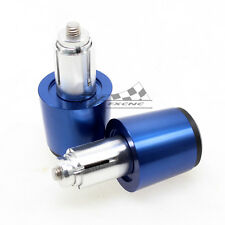 Blue Handle Bar Ends Cover For Suzuki GSF1200 Bandit GSX650F GS500F GS500 Motor
