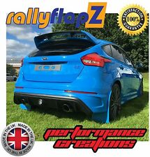 Mudflaps Ford Focus RS MK3 MUD FLAPS RallyflapZ nitroso Azul 'Kaylan' PU Set of4