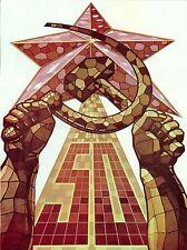 PROPAGANDA POLITICAL WOMEN PEASANT ALLIANCE SOVIET USSR COMMUNISM POSTER BB2691A