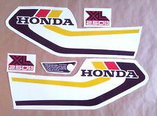 Autocollants / Stickers / Decals Honda XL250S - XLS 250 (78)