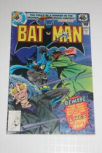 BATMAN #307 Jan 1979 WHITMAN VARIANT LOW PRINT KEY 1st LUCIUS FOX!  MID GRADE
