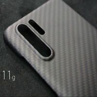 1x Luxury Genuine Carbon Fiber Ultrathin Matte Case Cover For Huawei P30 P30Pro