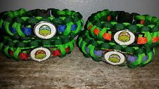 1 - TMNT Teenage Mutant Ninja Turtles paracord survival bracelet