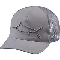 c8e5bfd56e Costa Del Mar Stealth Tarpon Hat Graphite