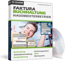 Hausmeister Software Programm inkl. Buchhaltung,Komplettlösung ohne Folgekosten