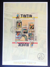 FDS First Day sheet Journal Tintin 70 ans  Timbres 3800 ex ETAT NEUF