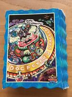 26 space oddbodz cards including Doc Fever's Space Lab - MINT CONDITION