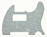 Tele Style Humbucker Guitar Pickguard Scratch Plate White Pearl Fits Telecaster