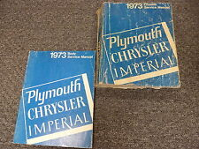 1973 Chrysler Newport Town & Country New Yorker Body & Chassis Repair Manual