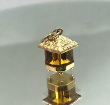 Beautiful 18ct Gold Lantern Charm 1.8 Grams.