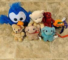 7 Small Stuffed Animals Plush