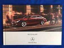 Prospekt Brochure Mercedes CLS-Klasse C219 CLS350 CLS500 CLS55 AMG 350 500 55 07