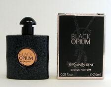 BLACK OPIUM YVES SAINT LAURENT EAU DE PARFUM 7.5 ML. 0.25 FL.OZ. MINI NEW IN BOX