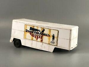 Vintage Tootsietoy Dean Van Lines Inc Moving Trailer