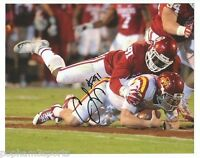 CHARLES TAPPER Signed/Autographed OKLAHOMA SOONERS OU 8x10 Photo w/COA