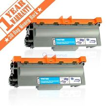 2 High Yield For Brother TN750 Toner Cartridge TN720 HL-5450DW 5470DN MFC-8710D