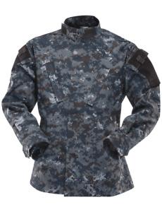 TRU SPEC Urban Digital Camo ACU Tactical Response Uniform Mens Shirt 1325 Medium