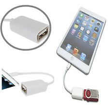 Fast Speed OTG Host to USB 2.0 Female Adapter Cable for Apple iPad 4 Mini