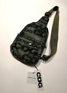 COMME DES GARCONS and PORTER YOSHIDA unisex shoulder bag GREEN khaki
