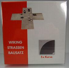 Wiking 119903 Strassen-Bausatz Kurve (5 Stück)