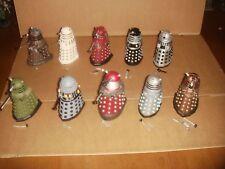 Eaglemoss - Doctor Who Figurine Collection - Rare Dalek x 10 DAMAGED